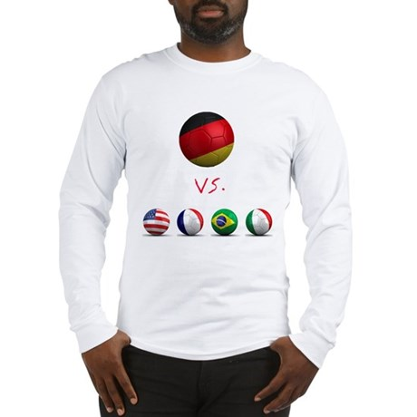 Germany vs The World Long Sleeve T-Shirt