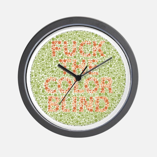 Cute Sports humor Wall Clock