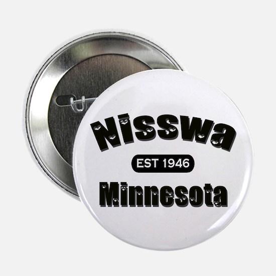 "Nisswa Established 1946 2.25"" Button"