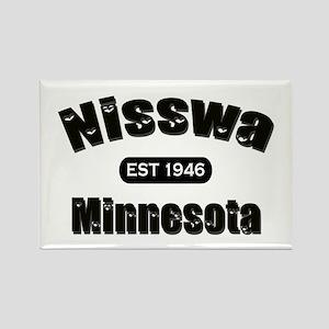 Nisswa Established 1946 Rectangle Magnet