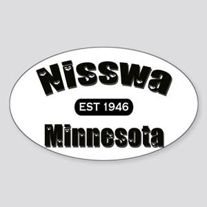 Nisswa Established 1946 Oval Sticker