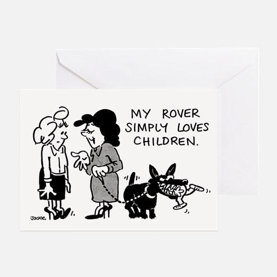 My Rover... Greeting Card