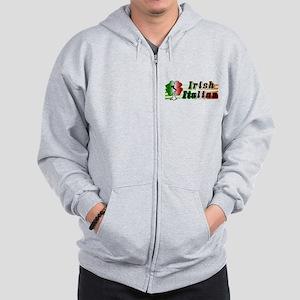 Irish Italian Zip Hoodie
