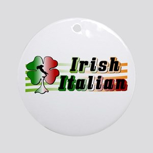 Irish Italian Ornament (Round)
