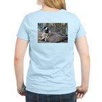 Canada Goose with Goslings Women's Light T-Shirt
