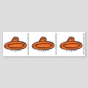 Right Leaning Condom Bumper Sticker