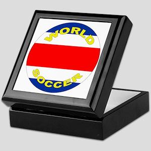 Costa Rica World Cup Soccer Keepsake Box
