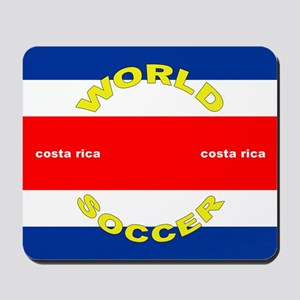 Costa Rica World Cup Soccer Mousepad