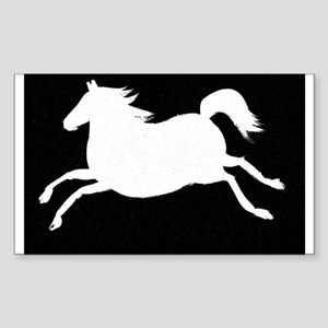 Spirit Horse Rectangle Sticker
