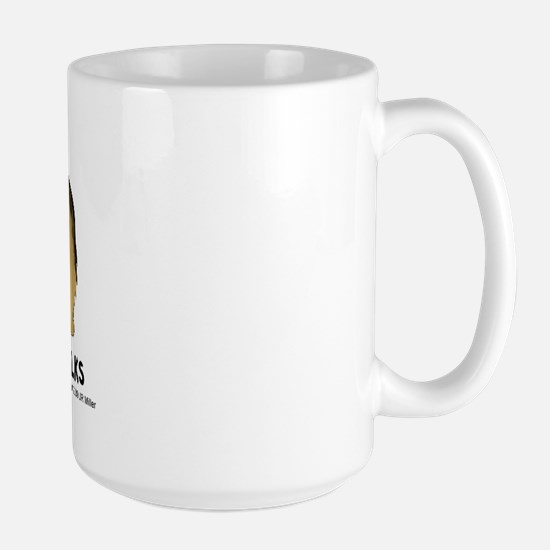 Nothin' Butt Norfolks Large Mug