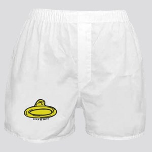 Right Leaning Condom Boxer Shorts