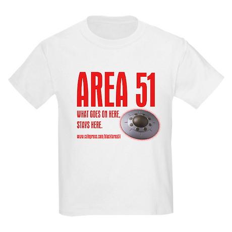 AREA 51, Kids Light T-Shirt