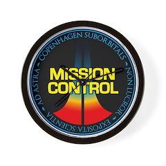 Mission control wall clock