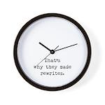 Rewrites Wall Clock