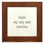 Rewrites Framed Tile