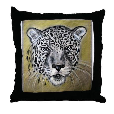 Leopard, beautiful, big cat, Throw Pillow