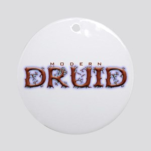 Modern Druid Ornament (Round)