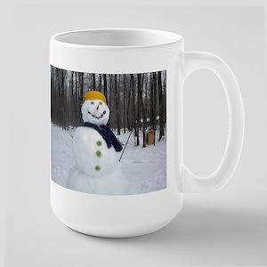 Christmas - Wintertime Large Mug