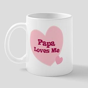 Papa Loves Me Mug