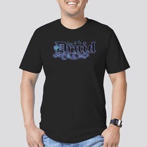 Born to be Druid Men's Fitted T-Shirt (dark)