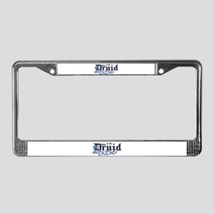 Born to be Druid License Plate Frame