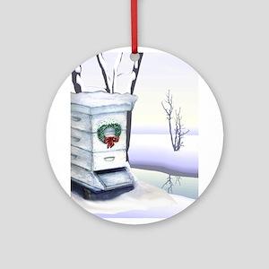 Winter Hive Ornament (Round)