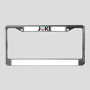 Joke License Plate Frame