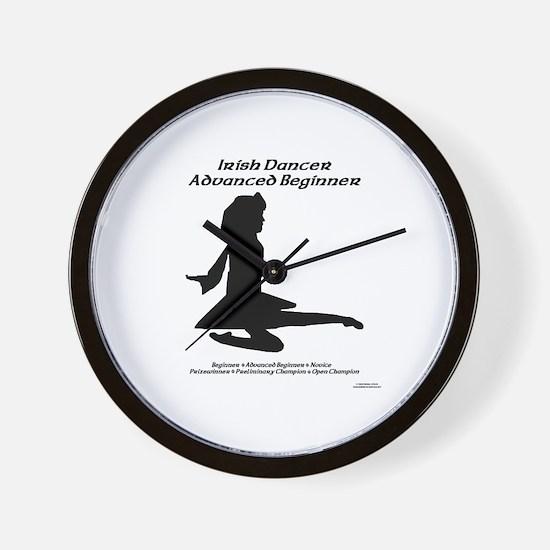 Girl Adv Beginner - Wall Clock