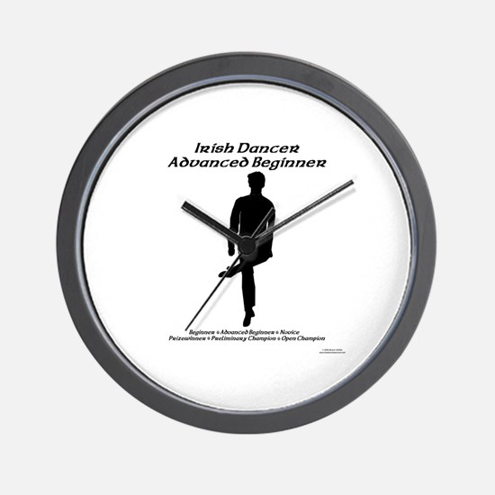 Boy Adv Beginner - Wall Clock