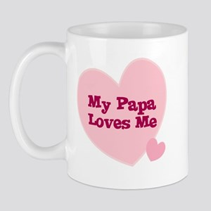 My Papa Loves Me Mug