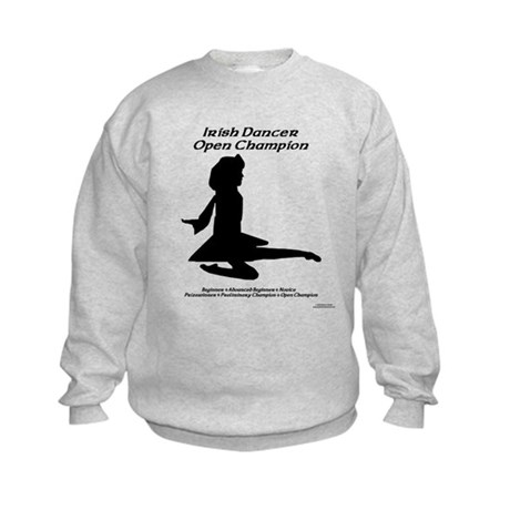 Girl Open Champ - Kids Sweatshirt