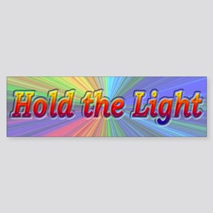 Psychedelic Hold The Light - Sticker