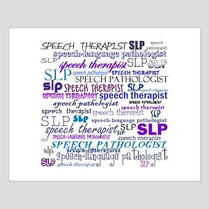 Speech-Language Pathologist T Small Poster