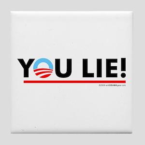 You Lie! 2 Tile Coaster