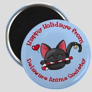 DAS Holiday Mascot Magnet