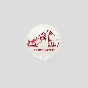 Nipper Victrola Mini Button