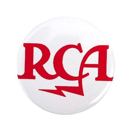 "RCA meatball 3.5"" Button"