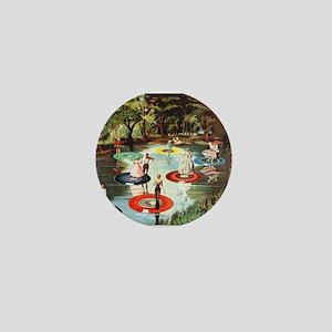 Phonograph/Record Player Mini Button