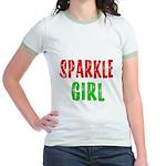 Sparkle Girl Jr. Ringer T-Shirt