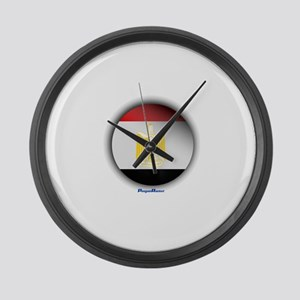 Egypt - Heart Large Wall Clock
