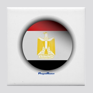 Egypt - Heart Tile Coaster
