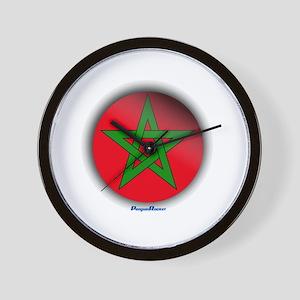 Morocco - Heart Wall Clock
