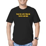 Good Time Men's Fitted T-Shirt (dark)