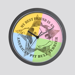 My Best Friend (Color) Wall Clock