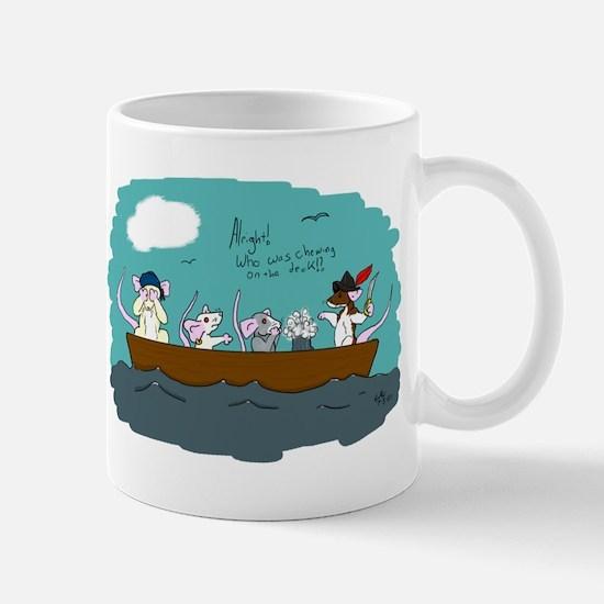 Trouble on Deck Mug