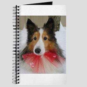 Christmas Bow Journal