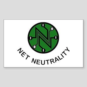 Net Neutrality - On a Rectangle Sticker