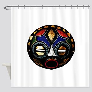 MASKED Shower Curtain