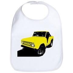 Yellow Bronco Bib