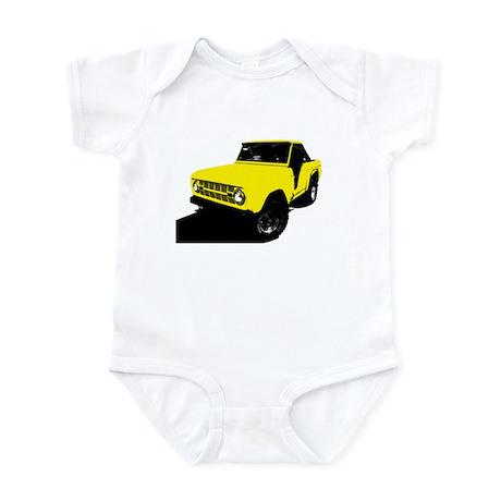 Yellow Bronco Infant Bodysuit